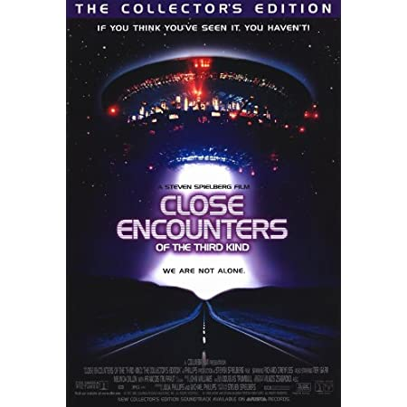 """CLASSIC MOVIE POSTER 12/"""" x 18/"""" 1977 CLOSE ENCOUNTERS OF THE THIRD KIND"""