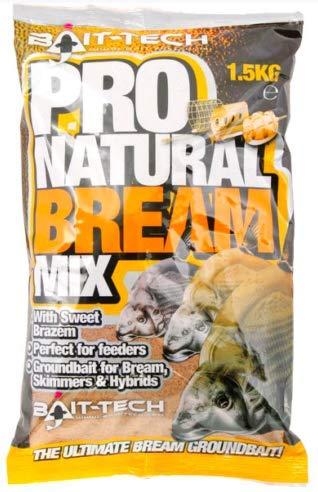 Bait-Tech Groundbait 1.5kg Pro Natural Bream