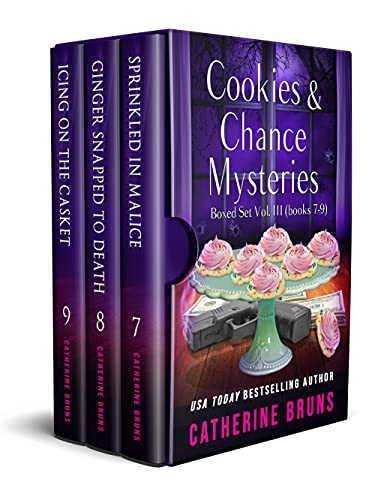 Cookies & Chance Mysteries Boxed Set Vol. III (Books 7-9) by [Catherine Bruns]