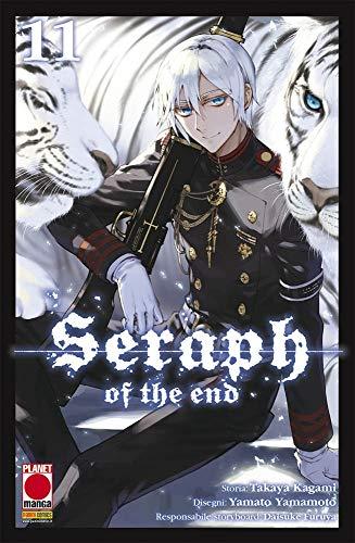 Seraph of the End N° 11 - Ristampa - Planet Manga - Panini Comics - ITALIANO #MYCOMICS