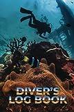 Diver's log book: Scuba Diving Log Book, Dive Log Book , Scuba Log Book Mini Size 6x9' 100Pages