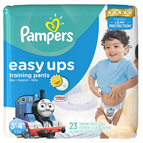 Price comparison product image Pampers Easy Ups Training Pants Boys 3T / 4T (Size 5),  23 Count (Old Version)