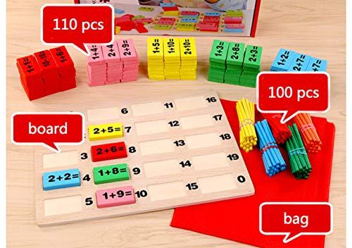 HorBous Juegos Matematicos de Madera para Niños Mayores de