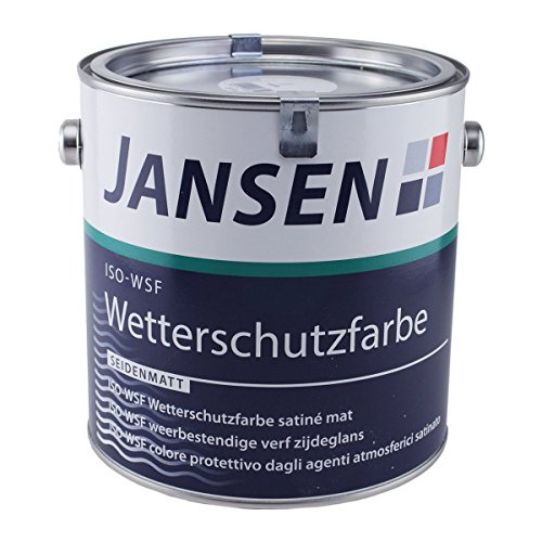 Jansen ISO-WSF Wetterschutzfarbe weiß 2,5l