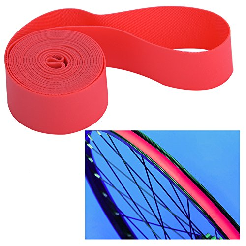 Mountain Bike Tire Liner, 2PCS/Set Bicycle Tire Tyre Inner Tube Tyre Protector Rim Strips Bike Tire Rim Strip Rim Tape Protection Pad Liner (24inch)