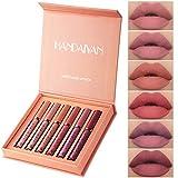 Rouge à Lèvres Liquide Mat, Longue Durée Waterproof Hydratant Brillant Maquillage...