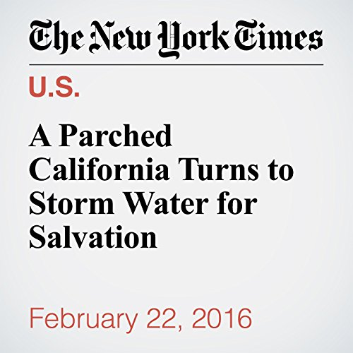 A Parched California Turns to Storm Water for Salvation audiobook cover art