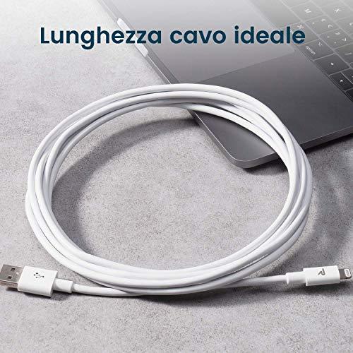 RAMPOW Kabel 3 m weiß