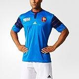 Adidas Performance FFR RWC H JSY Maillot de Rugby Homme Bleu - Bleu - Taille L