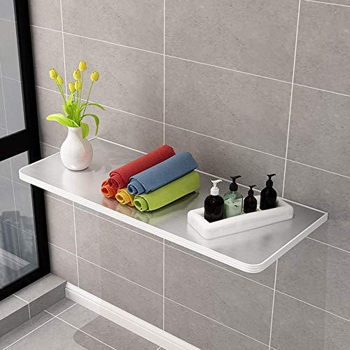 ZXYY Klapptisch für die Wand, zusammenklappbar, mit Klapptisch, für Esszimmer, Küche, Bar, Wandbefestigung aus Edelstahl, Laptop-Tisch 90x30 Cm/35x12 In