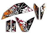 race-styles - Pegatinas compatibles con KTM Supermoto 690 R (2007-2010) | Factory DEKOR Decals KIT Pegatinas Graphics