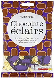 Original Waitrose Chocolate Eclairs Imported From The UK England British Chocolate Eclairs Buttery Toffee Treats With A Smooth Belgian Milk Chocolate Centre
