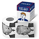 Take a Dump with Donald Trump Klopapier - Das Fun Toilettenpapier für Alle Bernie Sanders Fans & Hillary Clinton Belanglos-Finder
