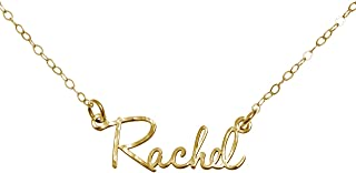 gold name charm