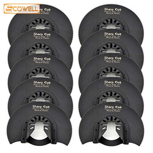 For Sale! Xucus 30% Off 10 pcs 88mm Oscillating Saw Blade For Multimaster For Fein tools Woodworking...