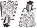 SEVFUN-PART No:216702900-Ultra Durable :216702900-Freezer Door Key -Compatible with Whirlpool,GE&Kenmore Freezers-ReplacementP4301346 AP4071414 PS2061565 AP2113733 06599905 08037402 12849-2pack