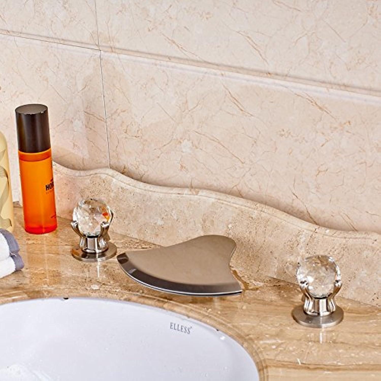 Jduskfl Kitchen Faucet Net Faucet Bathroom Faucet Hello Kitchen Waterfall Faucet Bathroom Basin Sink Water Tap Single Lever Mixer Taps Torneira,Chrome,White