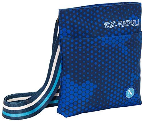 Ssc Napoli Mini Shoulder Bag, schoudertas Dots Camouflage Lite Geen Genere, Blauw, M