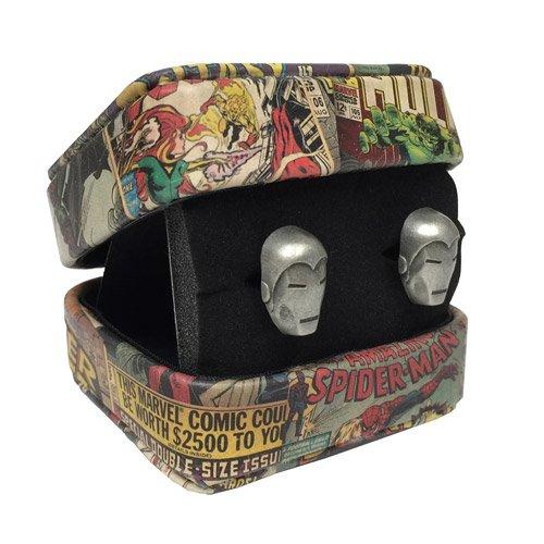 Iron Man Marvel 3-D Cufflinks