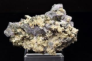 フローライト 硫ひ鉄鉱 鉄マンガン重石 雲母 共生鉱石 1点もの 原石_V976