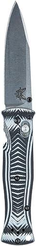 Benchmade Pardue Couteau Pliant Mixte Adulte, gris Noir, 83 mm