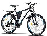 Corelli Desert Mountain-Bike 29 Zoll 27,5 Zoll 26 Zoll 24 Zoll 20 Zoll mit Aluminium-Rahmen, Shimano 21 Gang-Schaltung & Gabelfederung als Herren-Fahrrad Damen, Jungen-Fahrrad Mädchen, Kinder-Fahrrad