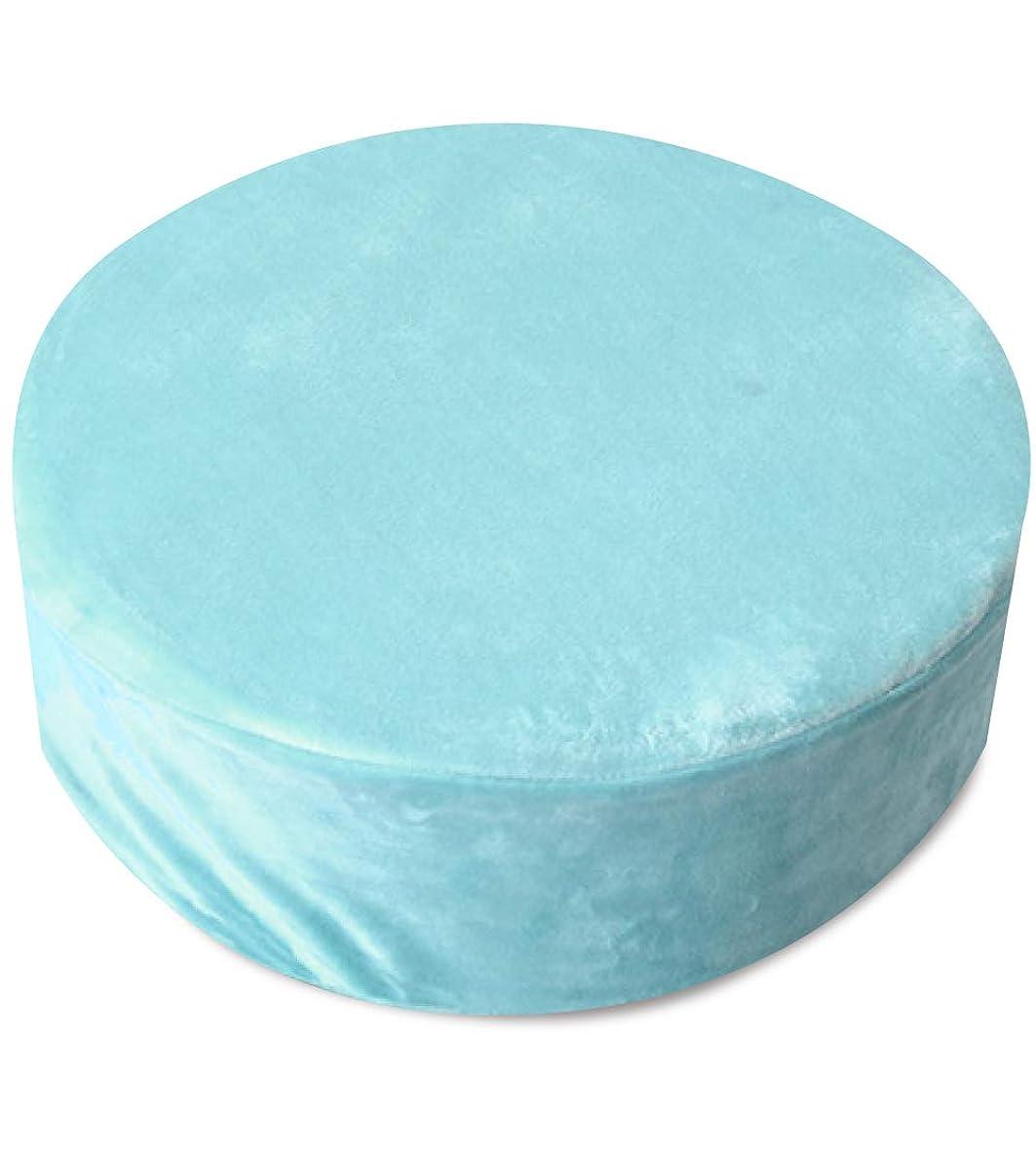 腐食するインスタントインシュレータ寝具のドリーム ハードクッション 約40R×13cm 円筒型 マルチクッション 優しい肌触り 選べる6色 (円柱型:約40R×13cm, ブルー)