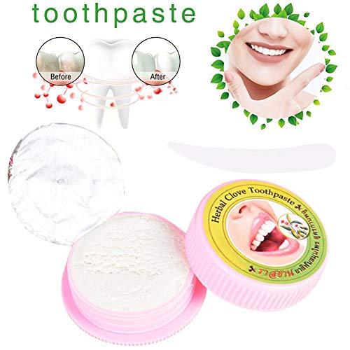Desirabely Wünschenswert | Herbal Toothpaste Zahnpasta Antibakterielle Zahnaufhellung Zahnpulver entfernt Flecken Reinigungswerkzeug für die Zahnpflege
