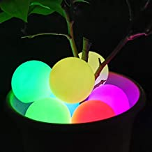 Floating Pool Light Ball, RGB Color Changing LED Bathtub Night Light IP68 Waterproof, Pond Ball Lamp for Kids Gift, Weddin...