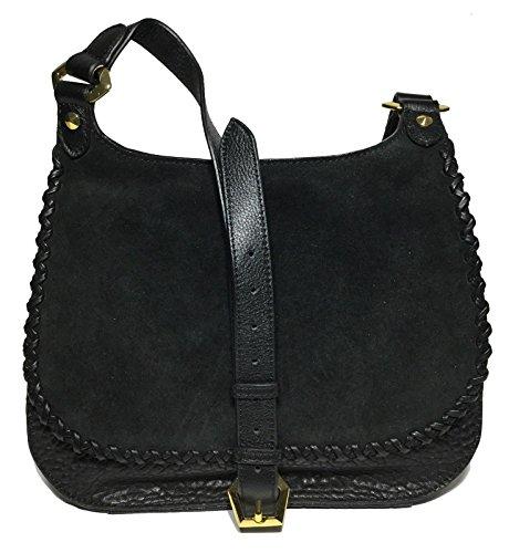 orYANY Woman's Leather/Suede Cross Body, Black