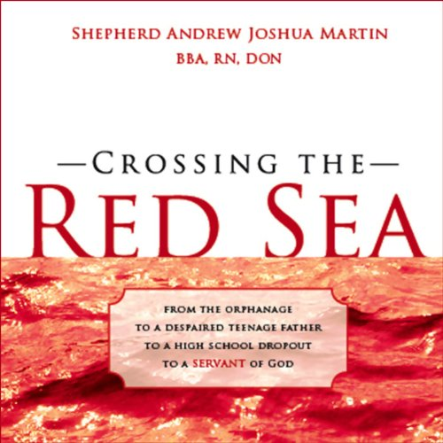 Crossing the Red Sea audiobook cover art