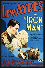 IRON MAN (1931) DVD with Jean Harlow, Lew Ayres, and Robert Armstrong