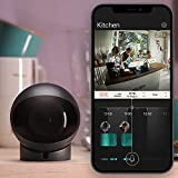 Homam 64GB   Unique Pet & Baby Monitor with Guard & Nanny Modes   AI-Powered   No Monthly fee   HDR Night Vision   2-Way Audio   5Ghz WiFi Security Indoor Camera with Phone App   Easy to use