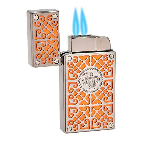Rocky Patel Burn Collection Lighter - Orange