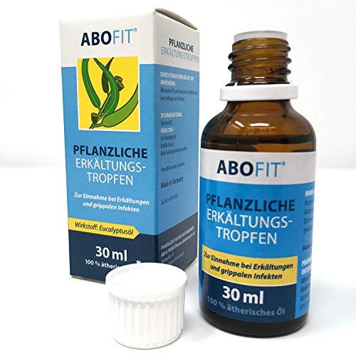 ABOFIT Eukalyptusöl Pflanzliche Erkältungstropfen zum Einreiben, Inhalieren, Einnehmen bei Erkältung 30ml