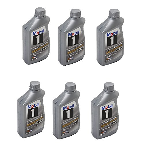 Mercedes-Benz Q-1-09-0015 - Mobil 1 Oil, 0w40, 1 Case/ 6 Qts Ea.