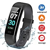 Fitness Tracker, Dwfit Activity Tracker with Heart Rate Monitor, Pedometer Watch with Sleep