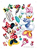 1art1 Walt Disney - Minnie Mouse and Daisy Duck, Make Up Pegatina para Pared (65 x 42cm)