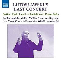 Lutoslawski's Last Concert: Partita/Interlude/Chai