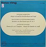 Tomaso Albinoni: Adagio In g-moll Fur Streichorchester Und Orgel / Recitativo Aus Dem Konzert Opus 11 Nr. 5 / Konzert Fur Zwei Trompeten - Konzert Fur Streich In C-moll [Vinyl] - Tomaso Albinoni