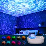 VAZON Bluetooth Spaceship Projection Lamp with Star Night Light Projector Galaxy LED Projection Lamp with 10 Modes