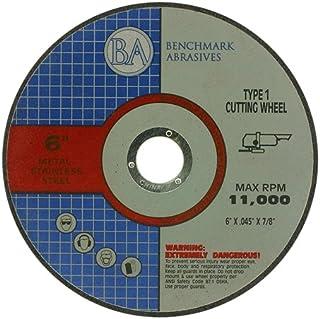 "6"" x .045 x 7/8"" T1 Premium Thin Cut-Off Wheel Metal & Stainless Steel – 25 Pack"