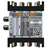 Multiswitch Johansson 9732 dCSS/dSCR 4in-2out