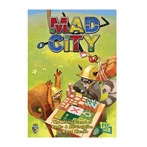 Mayfair Games MFG04133 - Brettspiele, Mad City