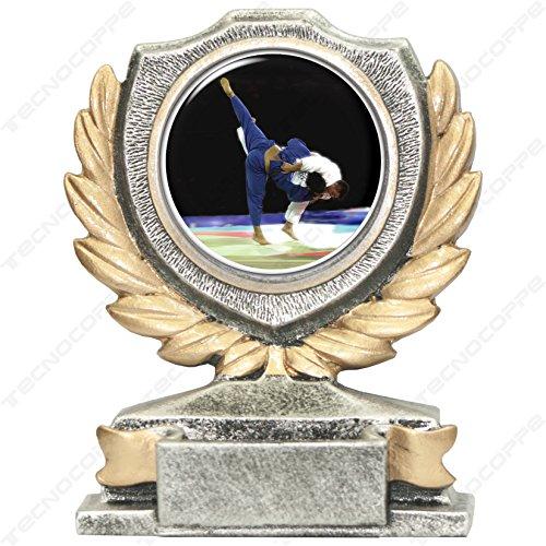 Trofeo Judo H 12cm la placa personalizada ist compresa en el precio