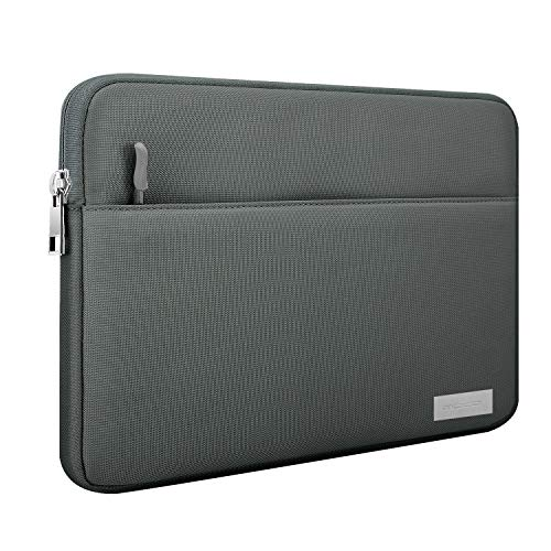 MoKo 11 Inch Tablet Sleeve Bag Carrying Case Fits iPad Pro 11, iPad 8th 7th Generation 10.2, iPad Air 4 10.9, iPad Air 3 10.5, iPad 9.7, Galaxy Tab A 10.1, Tab S6, S6 Lite, Tab S7, Fit Smart Keyboard