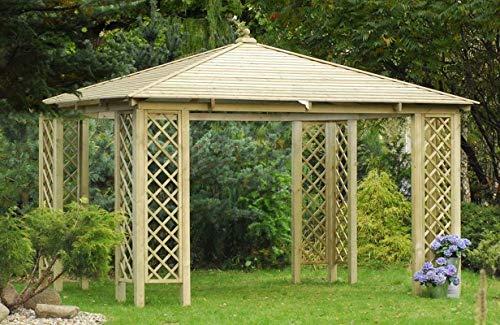 Jardinion Pavillon Rimini Holz 3 x 3m -...