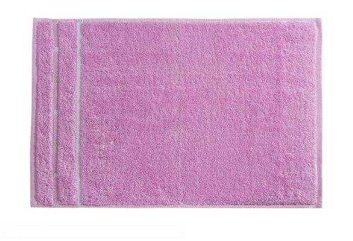 Vossen Quadrati Uni Gästetuch 3er Set Größe: 30 x 50 cm Farbe: 023 / flieder / weiß G8376/01903