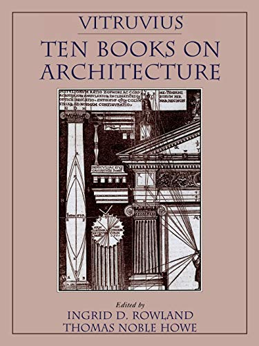 Vitruvius Ten Books on Architecture: UK & DE sales discount to load
