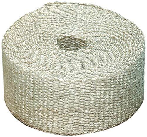 "Heatshield Products 325005 Off White Inferno Wrap 2"" Wide x 15' Header Insulating Heat Wrap"